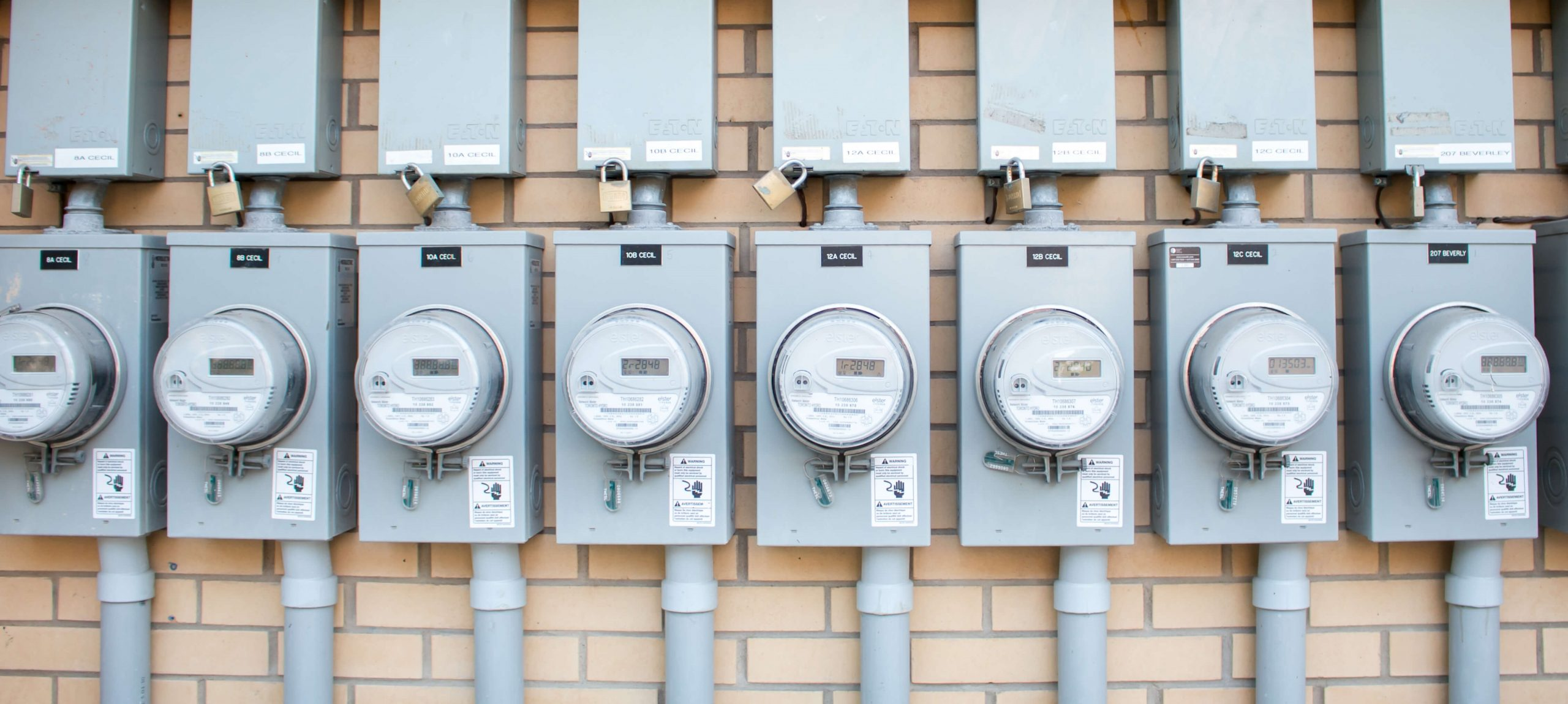 Wall of electricity meters | 5 Energy Billing Errors as Silent Killers | Cost Control Associates