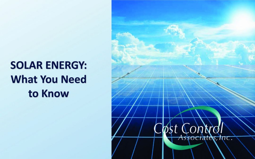 Solar Energy Webinar: What You Need To Know