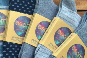 gifts that save energy and reduce waste | socks made from recycled textiles | Cost Control Associates