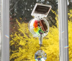 gifts that save energy and reduce waste | solar rainbow maker | Cost Control Associates