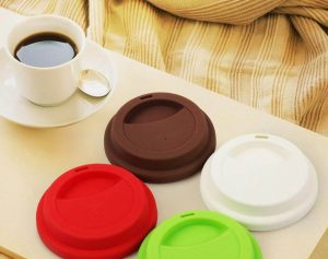 gifts that save energy and reduce waste | silicone cup lids | Cost Control Associates