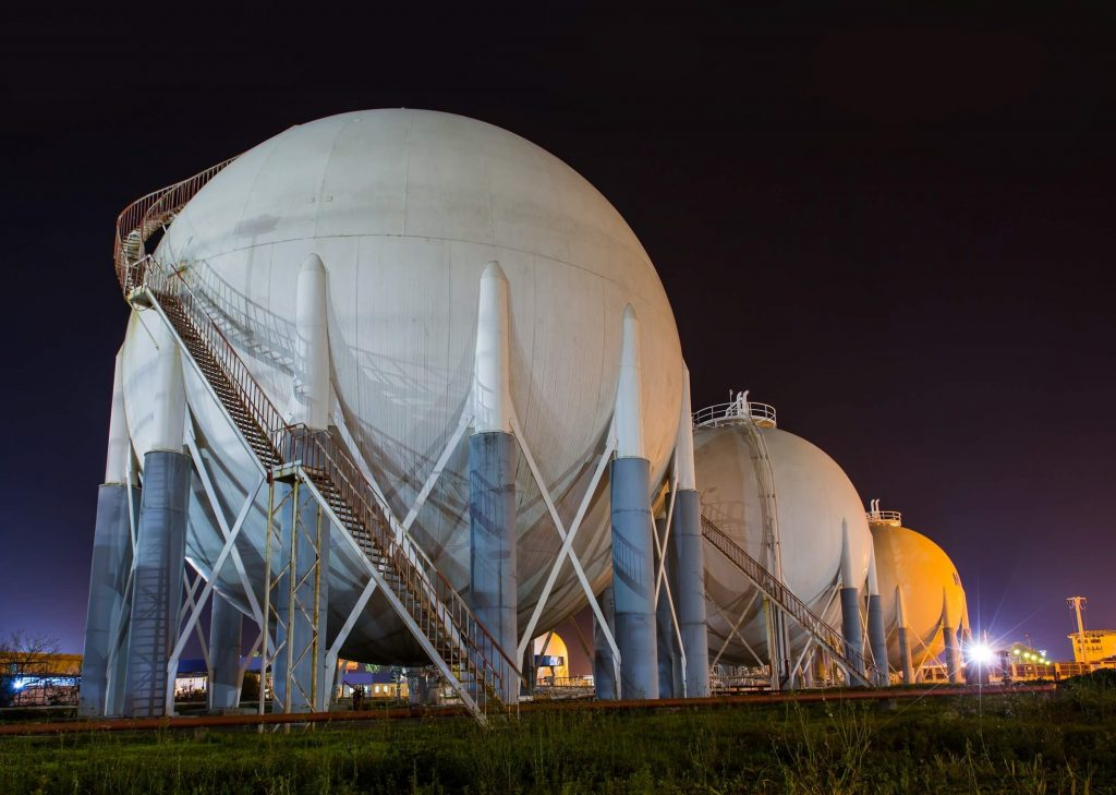 COVID impact on energy pricing | natural gas storage tanks | Cost Control Associates