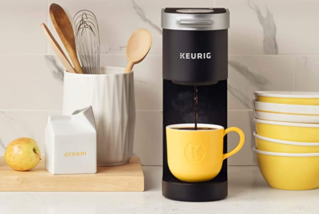Holiday Gift Ideas | mini Keurig coffeemaker | Cost Control Associates