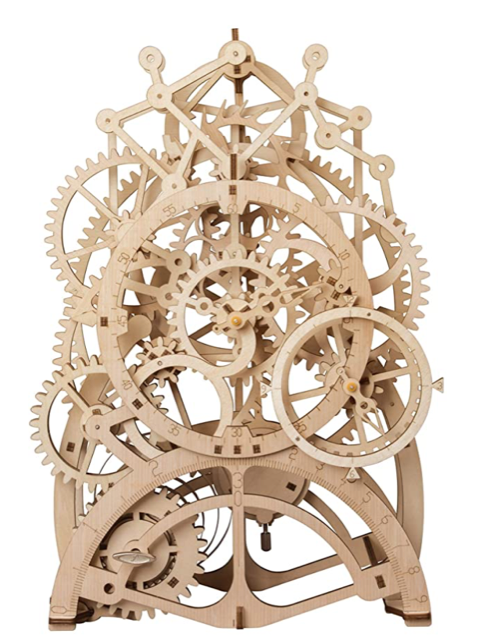 Holiday Gift Ideas | wooden pendulum clock | Cost Control Associates